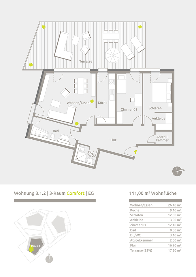 Preis: 286.400 U20ac (zzgl. 15.000 U20ac Für Tiefgaragen Stellplatz)